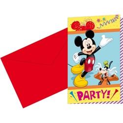 Mickey Carnaval Davetiye