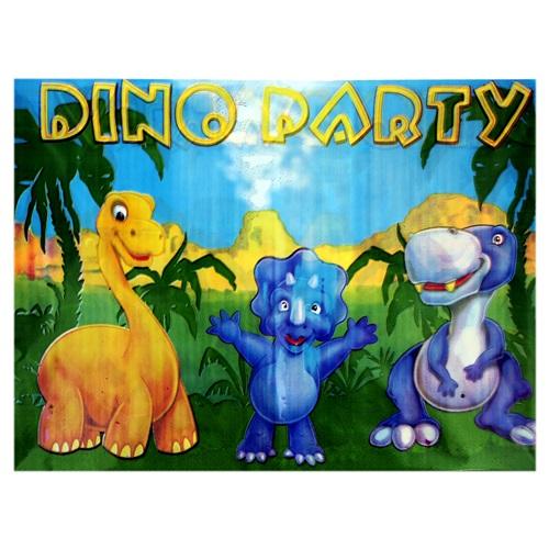 Sevimli Dinozorlar Masa Örtüsü