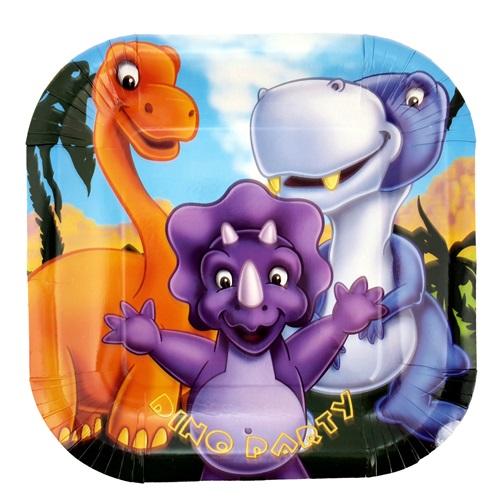 Sevimli Dinozorlar Tabak