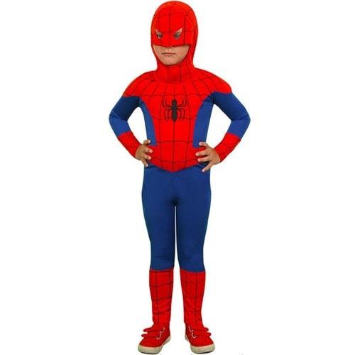 Spiderman Temalı Kostüm