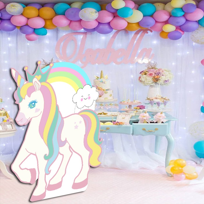 Dekor Unicorn Ayaklı Pano
