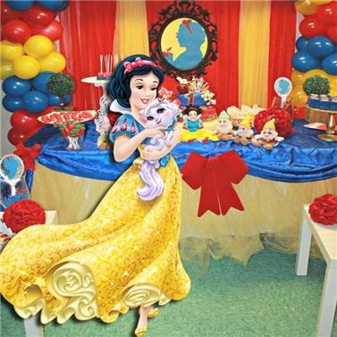 Pamuk Prenses Ayaklı Pano