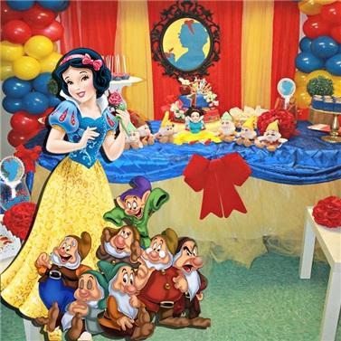 Pamuk Prenses 7 Cüceler Ayaklı Pano