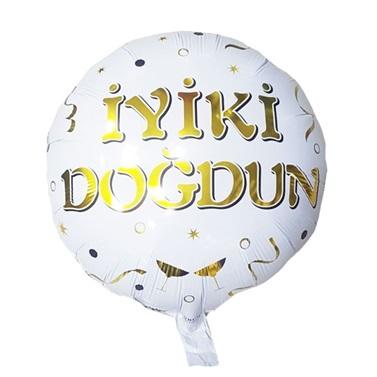 İyi Ki Doğdun Gold Folyo Balon