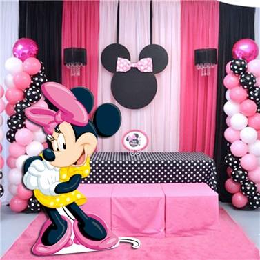 Minnie Mouse Ayaklı Pano