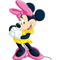 Minnie Mouse Dekor Ayaklı Pano