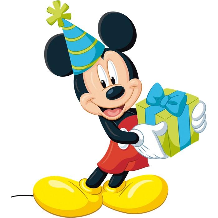 Mickey Mouse Ayakli Pano