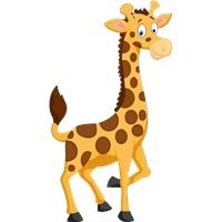 Safari Zürefa Temalı Ayaklı Pano