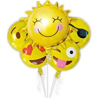 Emoji Folyo Balon