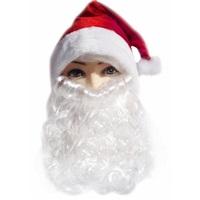 Noel Baba Sakallı Şapka