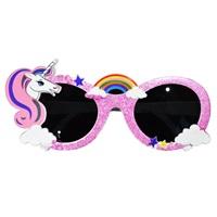 Unicorn Temalı Parti Gözlüğü
