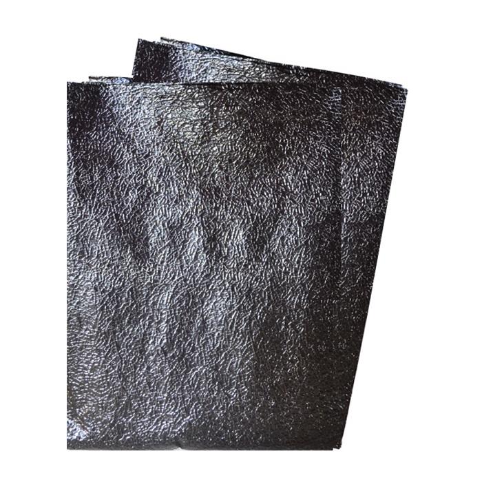 Metalize Kabartmalı Masa Örtüsü Siyah