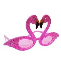 Flamingo Pembe Parti Gözlük