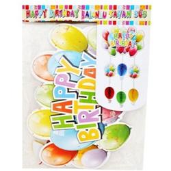 Happy Birthday Balonlu Tavan Süs