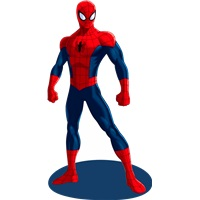 Spiderman 2 Ayaklı Pano