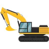 İnşaat İş Makinası Ayaklı Pano