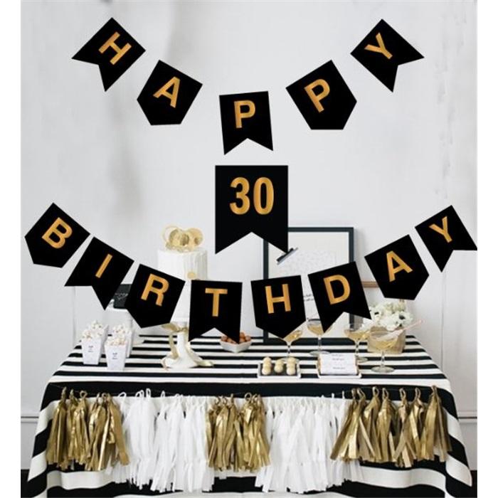 30 Yaş Happy Birhtday Yazı
