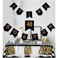 40 Yaş İyi Ki Doğdun Yazı
