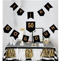 50 Yaş İyi Ki Doğdun Yazı