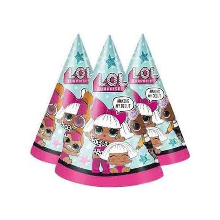 Lol Bebekler Külah Şapka
