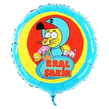 Kral Şakir Folyo Balon 45 Cm