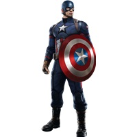 Kaptan Amerika Ayaklı Pano