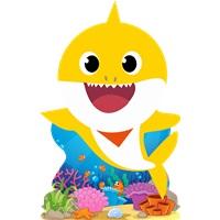 Baby Shark Dekor Ayaklı Pano