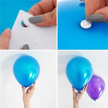 Zincir Balon Seti Karışık Renkli