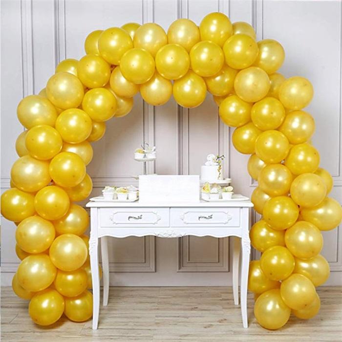 Zincir Balon Seti Gold