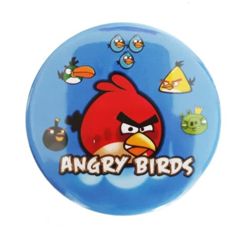 Angry Birds Doğum Günü Rozeti