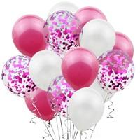 Fuşya Beyaz Balon