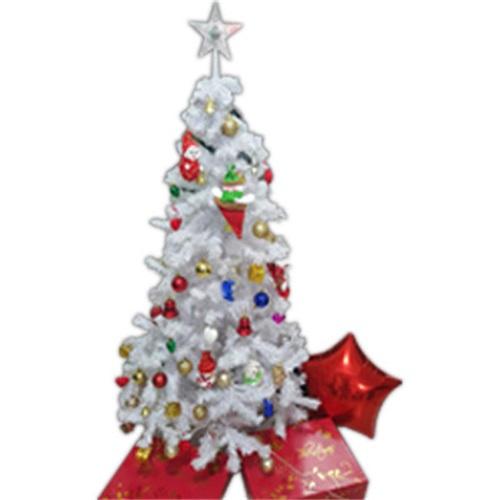 Yılbaşı Ağacı Beyaz Demir ayak
