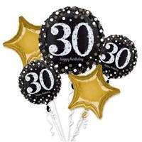 30 Yaş Folyo Balon Seti
