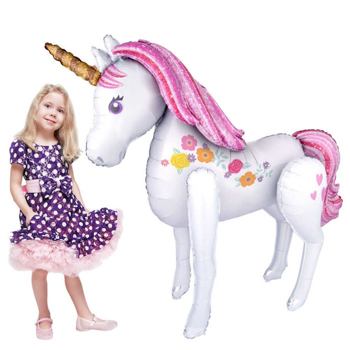 Unicorn Ailrwalker Folyo Balon