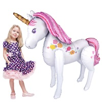 Unicorn Ailrwalker Folyo Balon