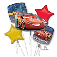 Cars Balon Buketi