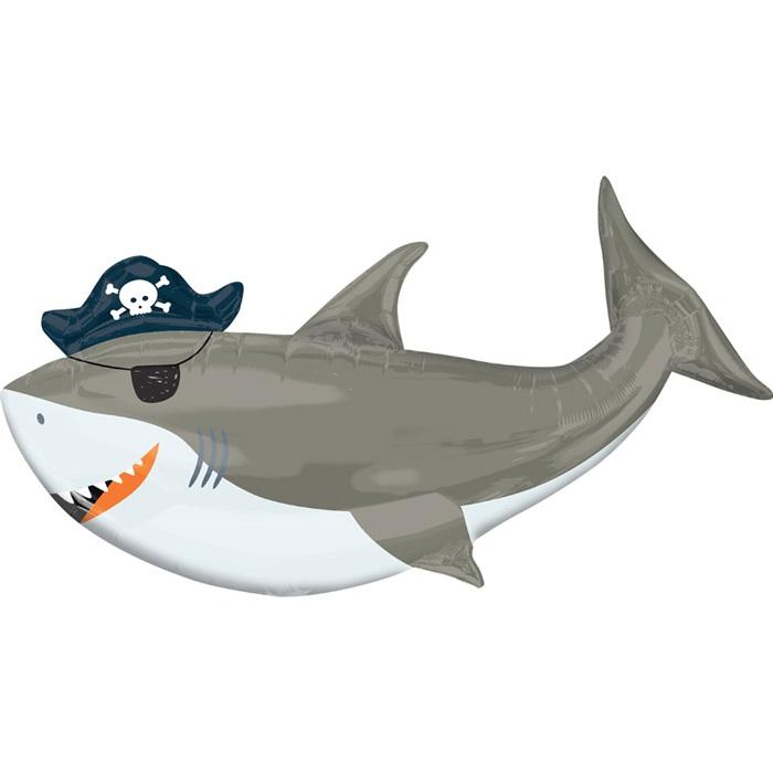 Korsan Köpek Balığı Folyo Balon