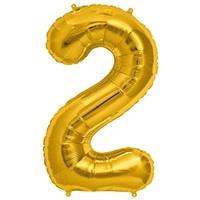 2 Folyo Balon Gold