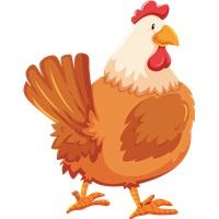 Çiftlik Hayvanları Tavuk Ayaklı Pano
