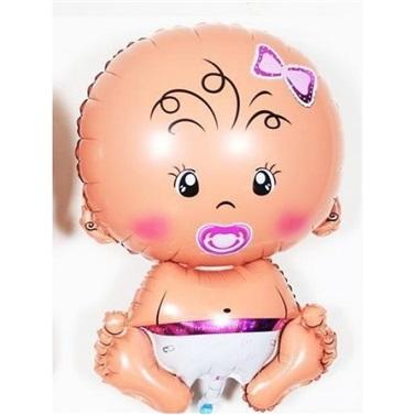 Baby Pink Folyo Balon