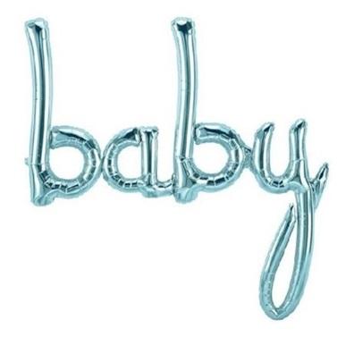Baby Mavi Folyo Balon