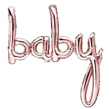 Baby Rose Gold Folyo Balon
