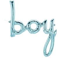 Boy Folyo Balon Mavi