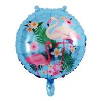 Flamingo Folyo Balon Mavi