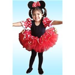 Minnie Mouse Temalı Fashion Kostüm