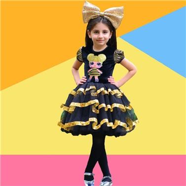 Lol Bebek Queen Bee Kostümü