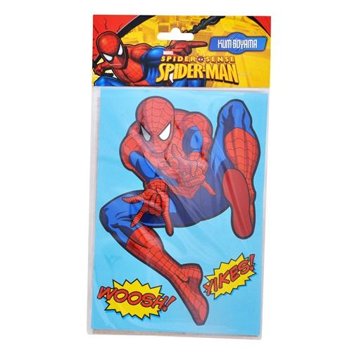 Spiderman Kum Boyama