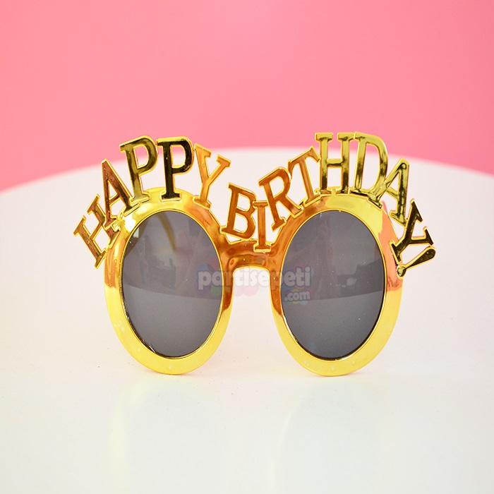 Happy Bırthday Parti Gözlüğü