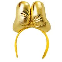 Minnie Mouse Altın Renkli Taç