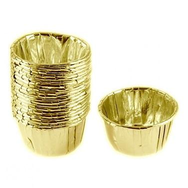 Metalik Gold Cupcake Kabı